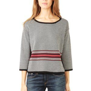 Rag & Bone Black 'Dawn' Pullover Sweater